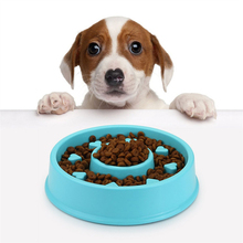 FameBeaut Strange New Anti-Choking Dog Bowl Jungle Bowl Healthy Food Bowl Pet Bowl To Prevent Obesity Three Color Plastic