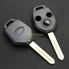 LinHui for SUBARU XV FORESTER LEGACY OUTBACK Keys 3 Buttons Car Keys Uncut Cooper Blank Blade Type 1 Straight Key ABS Shell 1PC