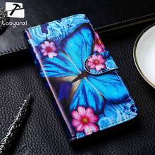 TAOYUNXI PU Leather Flip Case Cover For Alcatel OneTouch One Touch Pixi 4 Pixi4 5.0 Inch OT-5010 5010D 5010X 3G Version Bags(China)