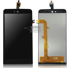 Original Quality For Wiko Rainbow Jam 5'' LCD Display + Digitizer touch Screen For Wiko Rainbow Jam 3G LCD Free Shipping