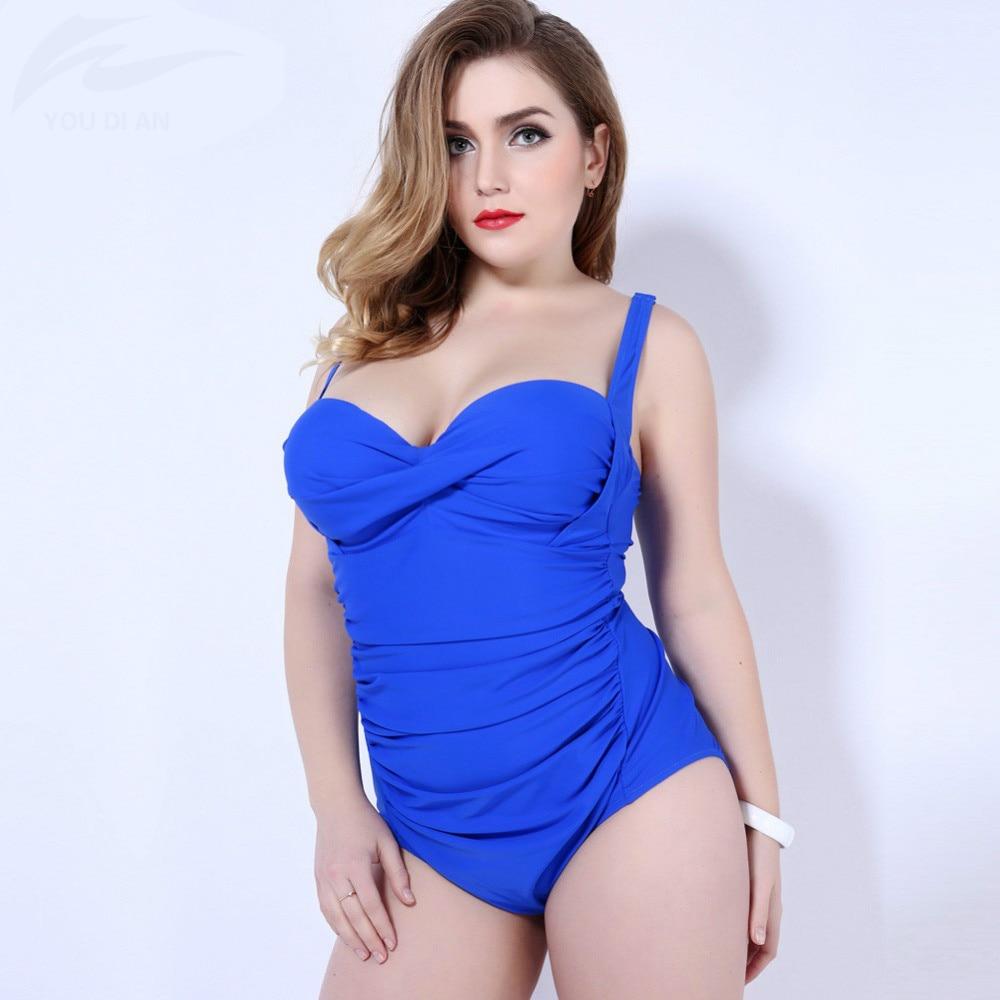 2017 Plus Size Swimwear One Piece Swimsuit Summer Dress For Women Plus Size Bodysuit Women Bathing Suit Sexy Beach Suit<br>
