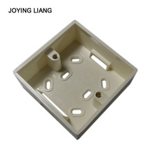 Joying Liang 86 Socket Box New Flame Retardant PVC Material Surface-type 35/ 40/ 43/ 45MM Socket Junction Box(China)