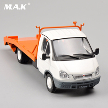 1/43 Scale Russia Collection Trailer Truck Alloy Diecast Car Model Car Kids Toys brinquedos Collectible boys Gifts(China)
