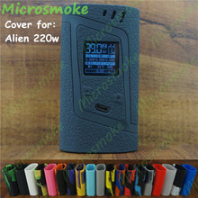 1pc silicone case foe Smok Alien 220w 220 Skin Starter kit Vaporizer Protective Alien220w thicker Cover rubber box