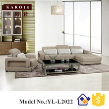 plywood Corner Sofa design Couch Chaise Lounge Modern Furniture,sofa sets for living room(China)