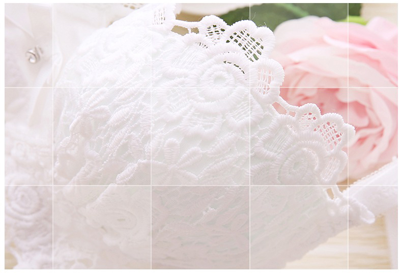 Minoan Push Up Bra Set Sexy Lingerie | Embroidery Cotton Bralet Set 4