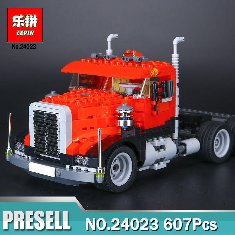 Lepin 24023 Creative Changing Series The Three in One Truck Set Children Educational Bricks Toys  Compatible Legoing 4955<br>