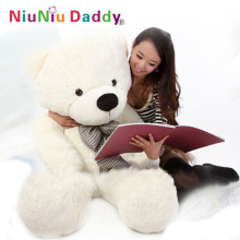 Free Shipping, Plush toys large size100cm / teddy bear 1m/big embrace bear doll /lovers/Valentine's day gift birthday gift