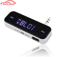 Mini Wireless Transmitter 3.5mm In-car Music Audio FM Transmitter For iPhone 4 5 6 6S Plus For Samsung/iPad Car MP3 Transmitter