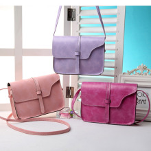 Fashion Women Handbag PU Leather Crossbody Messenger Bag Vintage Shoulder Bags Briefcase Popular(China)