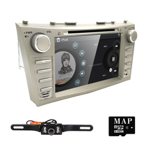 Car DVD Player For Toyota Camry 2007 2008 2009 2010 2011 8 Inch Screen GPS Navi BT Radio RDS DTV AUX USB SWC Rearview camera map
