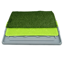 Indoor Dog Cleaning Pet Toilet Mat Tray Potty Puppy Training Pads Bandeja Dog Feces Mascotas Pet Cat Toillets Supplies 70A0910