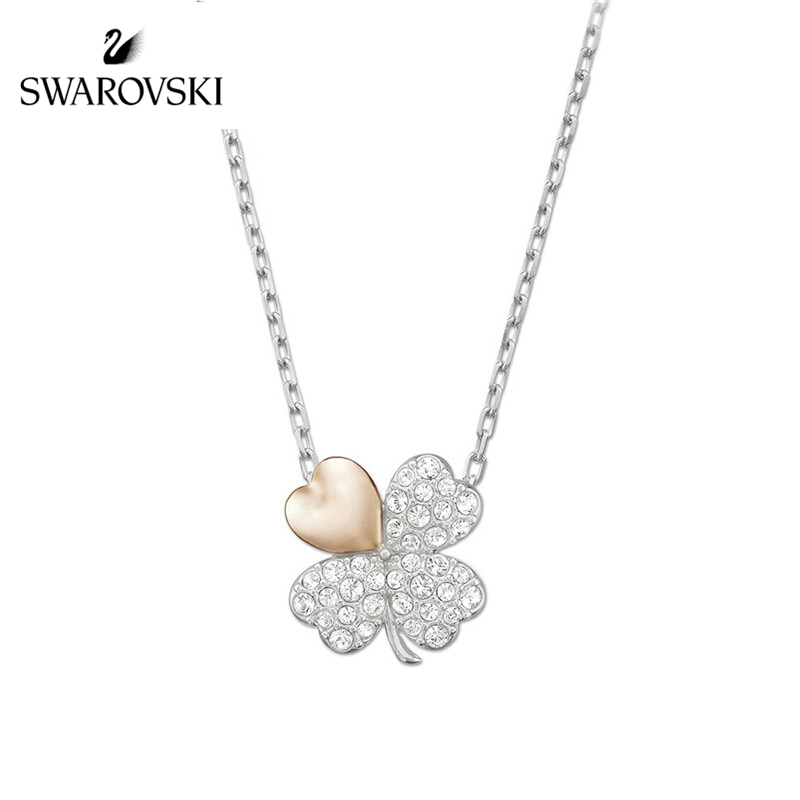 Swarovski four-leaf clover necklace BETTER CLOVER necklace female clavicle chain female fashion jewelry girlfriend gift 5407462