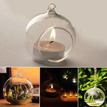 New Crystal Glass Candlestick Hanging Candle Holder Romantic Dinner Weeding Decor 5PCS/Lot xM9PX