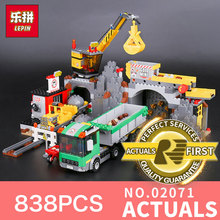 Buy Lepin 02071 838Pcs Genuine City Series City Mine Set Assemblage LegoINGlys 4204 Building Blocks Bricks Toys Model Child for $36.90 in AliExpress store