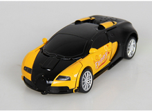 Bugatti 1:32 Scale Diecast Car Model Track Alloy High Quality Collection transformer light&sound Toys Funny Gift For Children