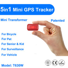 5 in 1 pet prersonal GPS tracker smallest portable GPS+Wifi tracker for purse, handbag, luggage or keys GPS+GSM+WIFI positioning