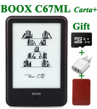 "Original ONYX BOOX C67ML carta+ ebook reader 6"" 8G wifi eink touch screen 3000mAh pocket books gift pu cover& 8Gtf card e book(China)"