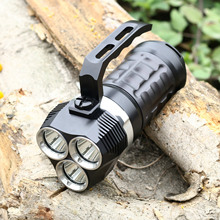 BestFire Professional production of LED lights diving flashlight portable CREE 3L2 waterproof 6000LM 100 meters flashlight(China)