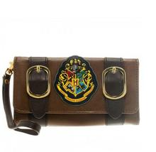 Harry Potter Hogwarts Castle Crest Envelope Satchel Fold Wallet Purse with Tag(China)