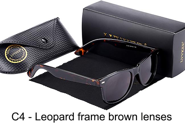 C4-Leopard frame brown lenses