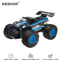 Remote Control Machine RC Car Drift 2.4G Truck 1:18 Radio Remote Control Model Battery Powered Cars Off-Road Electric Toys(China)