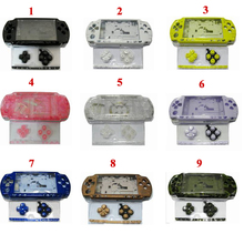 14 Colors for PSP2000 PSP 2000 Old Version Game Console replacement full housing shell cover case with buttons kit