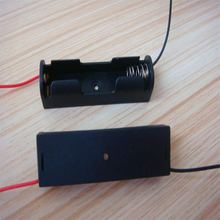 1X AA/LR6/UM3 or 1X1.5V battery holder/case/box for one battery ,150mm wires each direction,600pcs/lot(China)