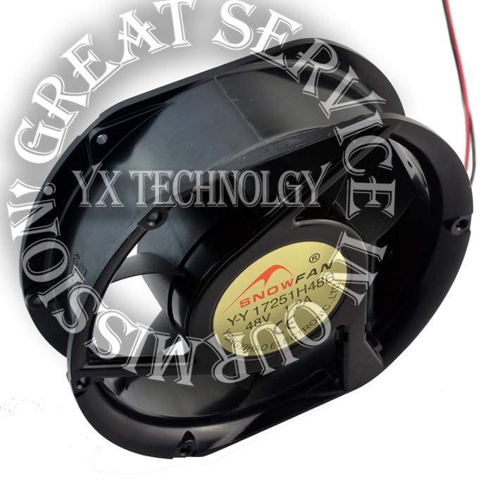 New YY17251H48B 17250 17251 48V 1.2A Double ball -largest wind turbine fan 172*150*51mm<br><br>Aliexpress