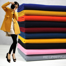 New arrival  50*150cm sanding Woolen cashmere thick fabric for  winter coat  DIY Artificial wool sewing fashion apparel fabric