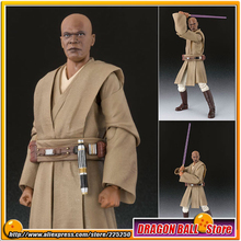 """Star Wars Episode II: Attack of the Clones"" Original BANDAI Tamashii Nations S.H.Figuarts / SHF Toy Action Figure - Mace Windu"