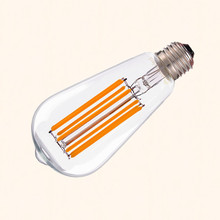 Retro Edison LED bulb E27 E26 COB Filament Light Bulb ST64 2W 4W 6W 8W AC 110V 220V dimmer 1W high power lamp chandelier