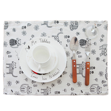 Lovely Cat Table Mat Dishware Plate Mats for Dinner Cup Coaster Heat Insulated Pad Kitchen Accessories for Baby Kids feeding(China)