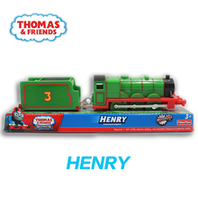 R9234 Electric train Thomas and friends Henry trains Trackmaster plastic material kids have toys packed.