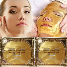 60g Gold Bio-Collagen Peel Facial Face Mask Anti-Aging Whitening Hydrating Repair Skin New H1(China)