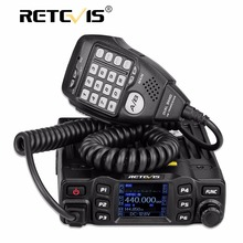 New Black Retevis RT95 Dual Band VHF/UHF 200 Channels EU/US frequency LCD display Mobile Car Radio Radio Station+Program Cable