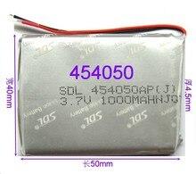 Brand aluminum shell lithium battery 3.7V 454050 battery MP43.7V polymer lithium battery core Li-ion Cell