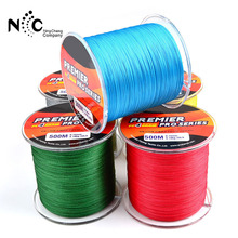 500 M/lot Hot Sale 1 pc/bag Anti-bite Fly leash Fishing lead Line Rope Wire leading colorful line Various size for Fishing Tool(China)