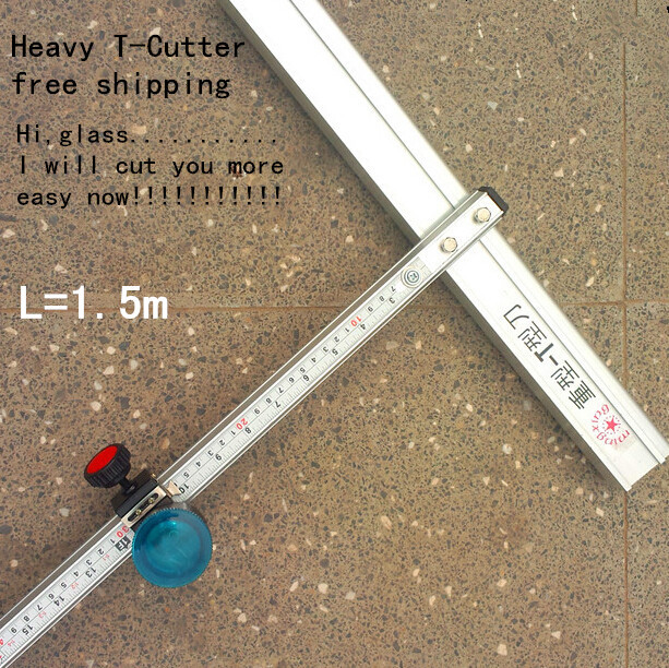 150cm Length heavy T- Type Aluminum Alloy Glass Cutter Tool 150cm FR<br><br>Aliexpress