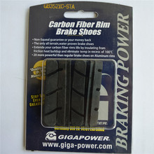 GIGAPOWER Brake Pads Special for Carbon Wheels All Terrain Water Proven  Temperature Control Non Squeal Shimano Compatibili