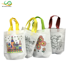 MYHOESWD Kids Drawing Toys Painting Handbags Juguetes For Children Education Drawing Toy for Kids Painting Canvas Bags As Gift(China)