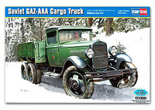 Hobby Boss 1/35 scale tank models 83837 World War II Soviet GAZ-AAA Triaxial Truck *