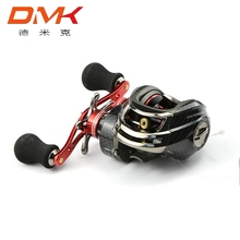 Bait Casting Fishing Reel DM120 Gear Ratio 12BB 6.3:1 Right/Left Hand Water Drop Wheel Baitcasting Reels Fishing Gear Tackle