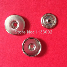 300sets/lot (1set= cap+socket+stud) OEM ODM 18mm copper Button Snap press Button charm base findings for ginger snap Jewelry