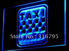 i976 Taxi Service Cab Display Lure LED Neon Light Sign On/Off Switch 20+ Colors 5 Sizes(China)