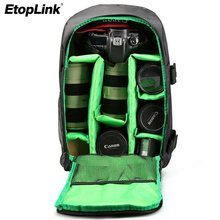 Upgraded Travel Camera Backpack Compact Nylon Photograph Bag Anti Theft Waterproof for DSLR Camera for Canon for Nikon for Sony(China)