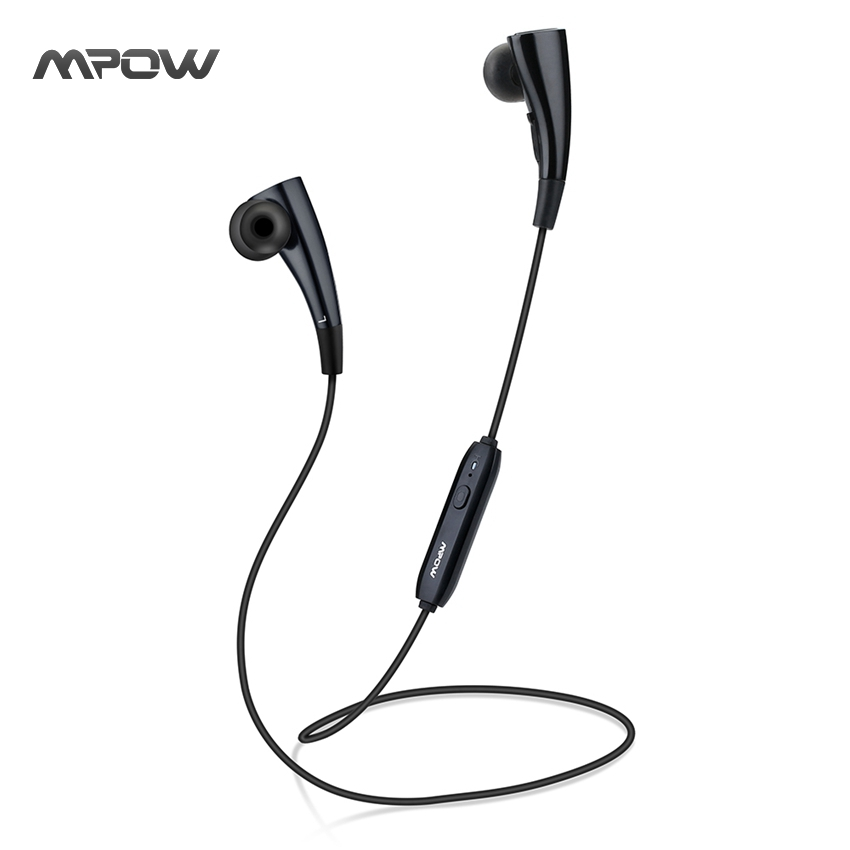 Mpow MBH31 Bullfight Magneto Earphone Headphone Bluetooth 4.1 Wearable Wireless Music Neckband Headphone for iPhone Samsung etc<br>