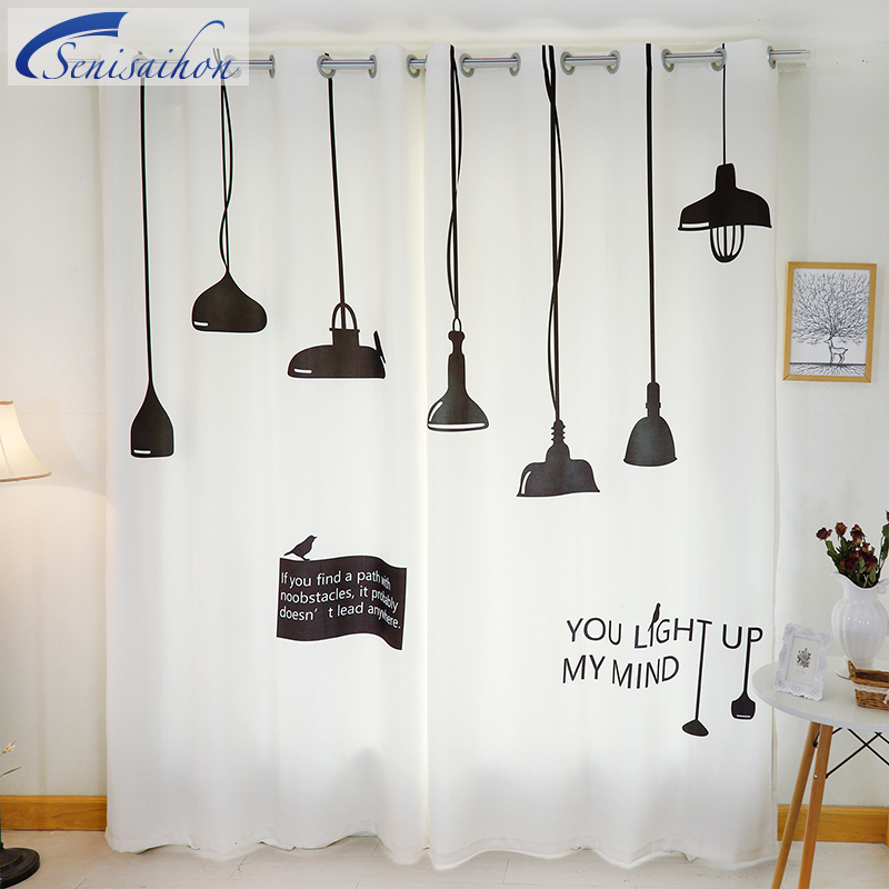 3d blackout curtains nordic ikea dressing room chandelier pattern thickened fabric children bedroom curtains for living room