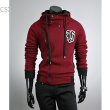 New Men's Dust Coat Slim Top Designed Hooded Winter Coat Jacket Men's Hoodies Clothes M L XL XXL Dark Gray free shopping 342(China)