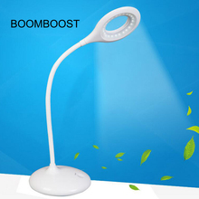 BOOMBOOST Touch Sensor with Adjustable Table Lantern  for Home Reading Studying Working Soft eye-care LED Desk Lamp